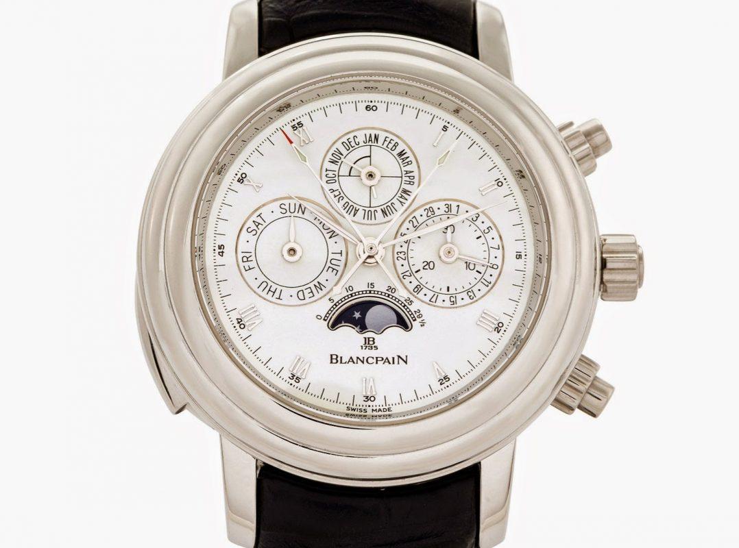 Lịch sử thương hiệu đồng hồ Blancpain